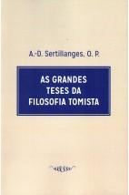 As Grandes Teses da Filosofia Tomista (FAC-SÍMILE)