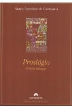 Proslógio - Edição bilíngüe